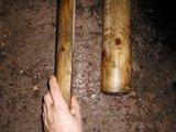 Bovenlat halfrond 3 meter, diameter 10 cm_