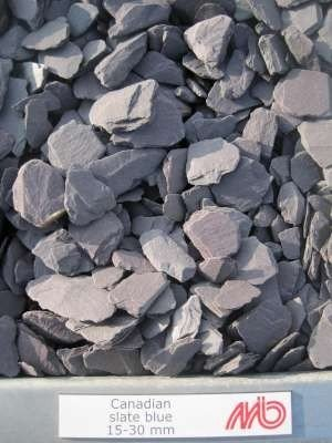 Canadian Slate Blue, (Sierkiezel) 15-30 mm
